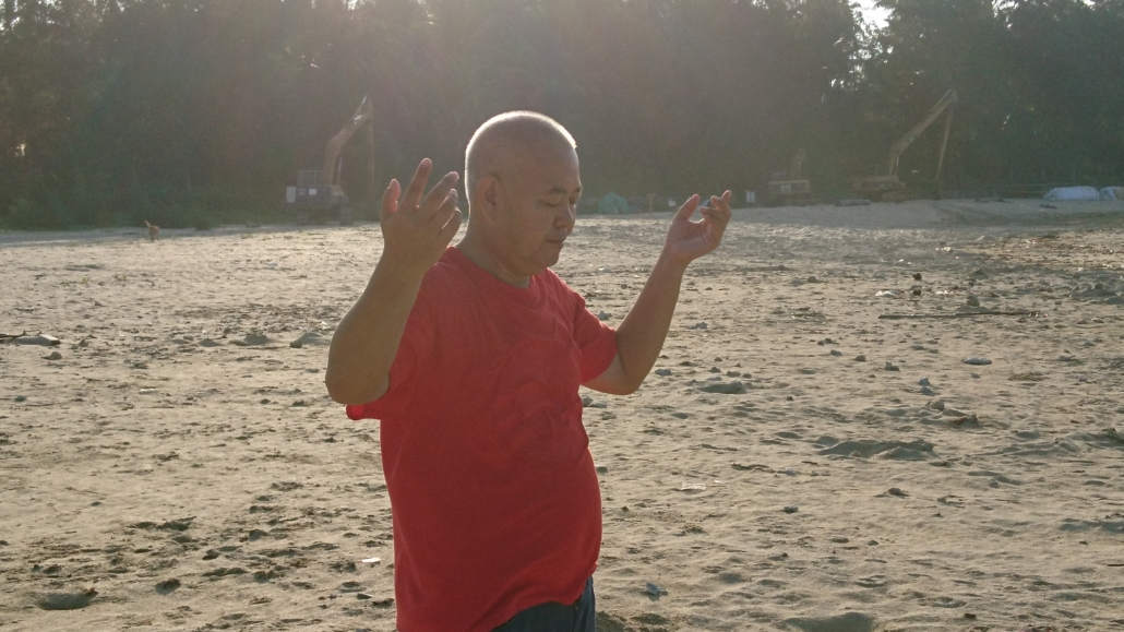 Zhineng Qigong Teacher Jianshe in China