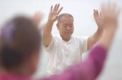 zhineng qigong master jianshe